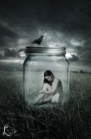Caught in a jar by lisanne225