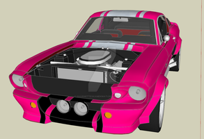 Ford Shelby GT500 by CharnettexKamenwati