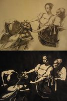 Caravaggio Studies by DeadValkyrie793