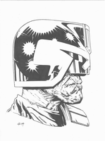 Judge Dredd. by BlackLabelArt
