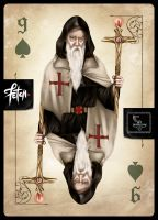 ToT Card Game OLD MAGICIAN by FranciscoETCHART