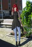 The girl with the red hair by Icemaya
