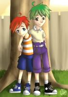 phineas and ferb by miesmud