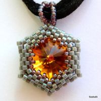 HEXed Rivoli Pendant by gordissima