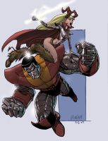 Colossus and Magik by RyanOdagawa