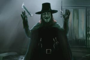 V for Vendetta by Greykitty
