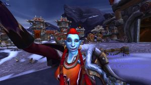 Zivilyn testing the S.E.L.F.I.E. Camera by constantie