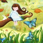 Lady butterfly by libelle