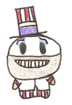 Chibi Captain Spaulding by 5raptor5