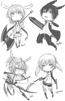 BJBB Chibi Doodles (2) by Zungie