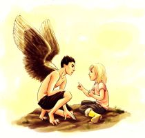 Are you an angel? by skorpi