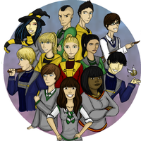 THE HOGWARTS GLEE CLUB by SarzRawrz