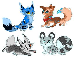 Chibi auction! by TaraviAdopts