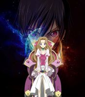 lelouch and nunnally by laila549