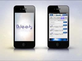 Daleely iPhone Application 01 by Atef-Emran