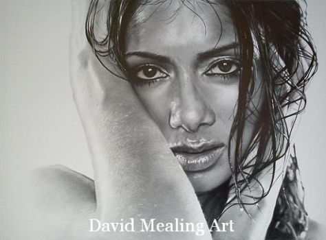 Nicole Scherzinger by Drawing-Dude-Dave
