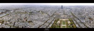 Paris from the tower by wrenchy