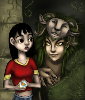 Pan and the faun  -Labyrinth-
