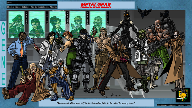 Metal Gear Solid by cheddarpaladin