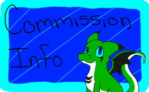 Commission button by DragonCartoons