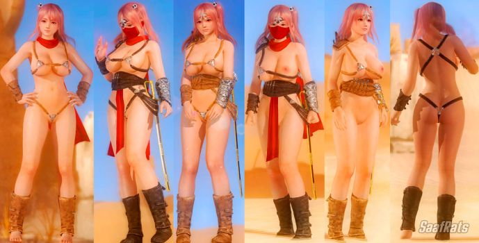 DOWNLOAD: ASSassinoka (meshmod) [DOA5LR] by SaafRats