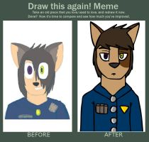 Draw This Again: the Captain by RockyGems