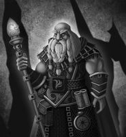 Dwarven Mage by Raaom