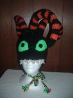 Nightmare Before Christmas Harlequin Demon hat by Nanettew9