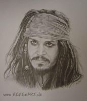 Jack Sparrow by HEXEnART