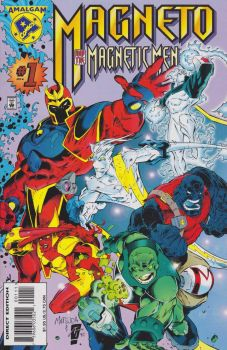 Magneto and the Magnetic Men by englandhalifax