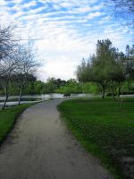 Park Path by Dori-Stock