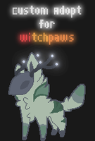 Glowing Spirit Custom for witchpaws 1/2 by Contract-Bound