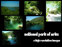 National park of Krka pack by Mithgariel-stock