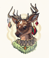 Deer by AngieMyst