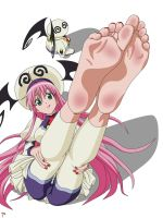 To Love Ru - Lala Gorgeous soles by trueshinobi01