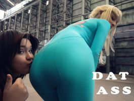 Zero Suit Samus : DAT ASS by beethy