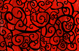 Stained Glass Swirls by RaeSyndrome