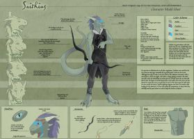 Saithius - Character Sheet Commission by Ulario