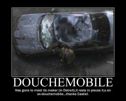 SPN - DoucheMobile by AlmightyPineapple