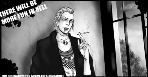 There will be more fun in hell by NellielTu