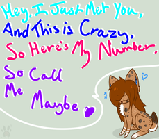 SO CALL ME MAYBE by MooshKat