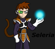 Dragon Ball OC~ Seleria by Pandalove93