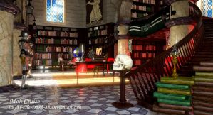Dumbeldore's Office by LiGhT-tHe-DaRk-88