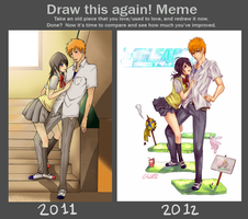 Draw IchiRuki again! by Cygnetzzz