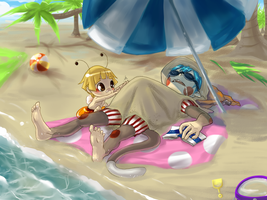 Beachtime FUN by Kikiine