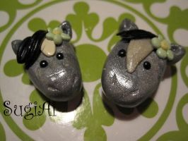 Horse Magnets by SugiAi
