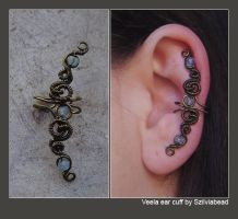 Veela ear cuff by bodaszilvia