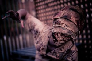 Silent Hill Nurse Cosplay 1 by MissOne