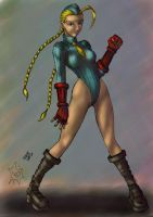 Color Practice 3 'Cammy' by BenjaminGalley