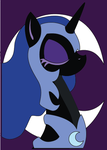 Nightmare Nights 5 x 7 Class Nightmare Moon by The-Paper-Pony
